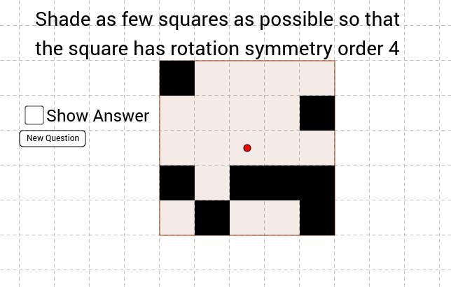 Randomized Rotational Symmetry Questions