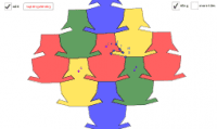 Symmetrical Rhombus by Translation