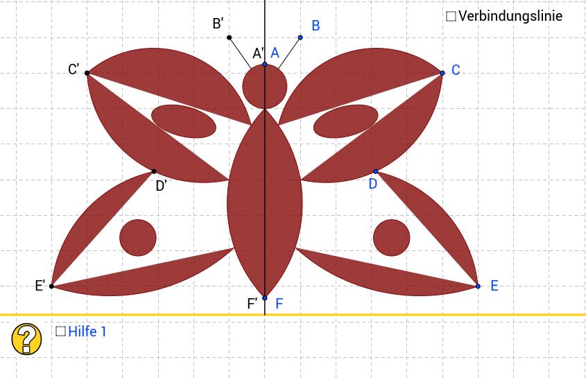 Tatort Tankstelle - Simul. 2 - Achsensymmetrie Schmetterling