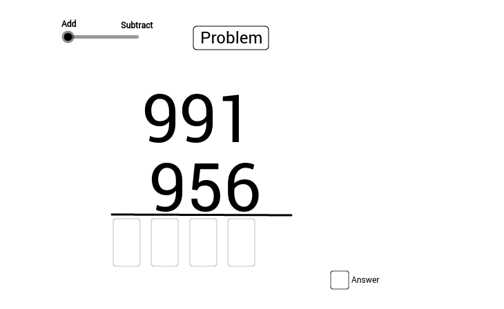 Addition or Subtraction (100)
