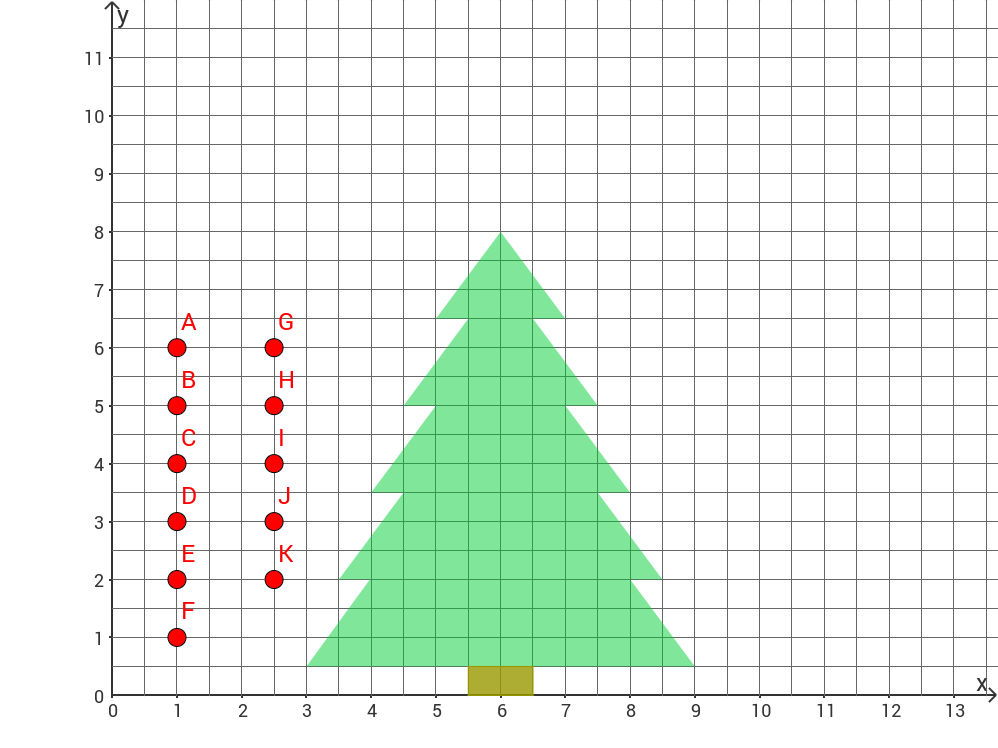 Schmücke den Weihnachtsbaum!