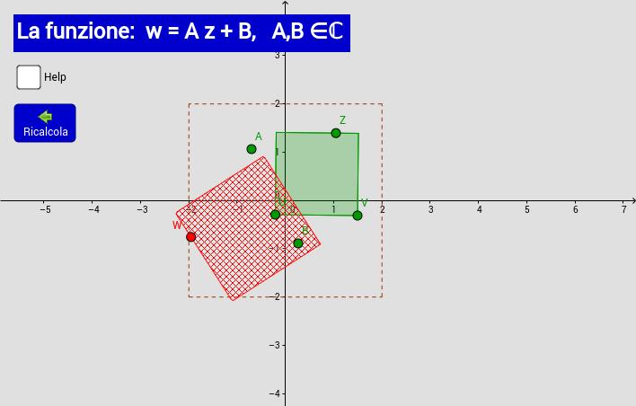 W = A Z + B
