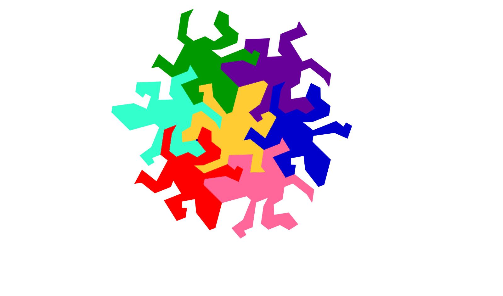 Copie de Lagarto de Escher