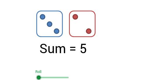 Roll 2 Dice