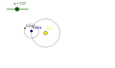 1.1 Deslizadores - Animación Tierra Luna