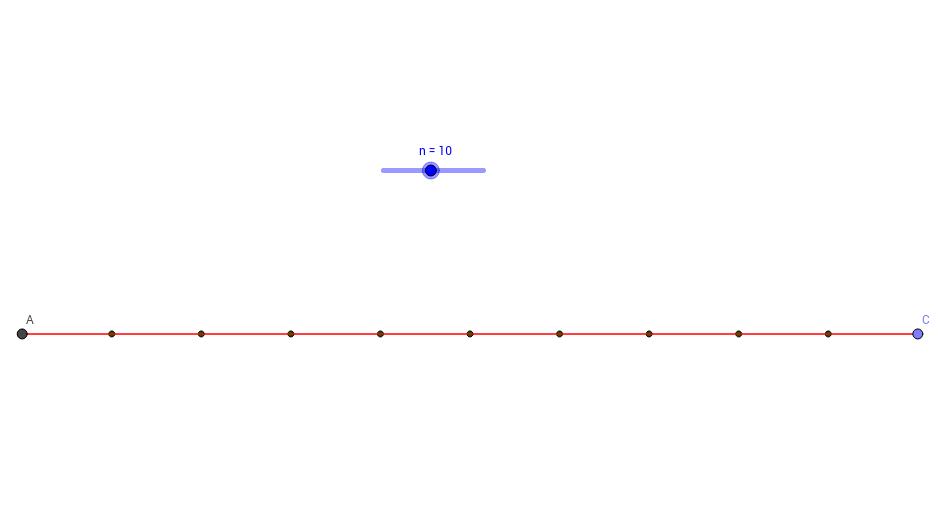 Division of a Line Segment