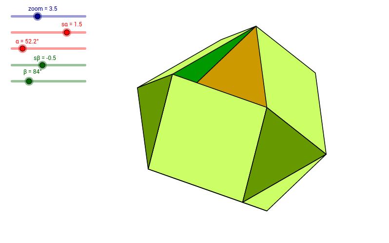 Przedziurawiona kopuła trójkątna podwójna