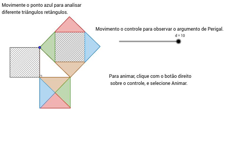 Teorema de Pitágoras por Perigal