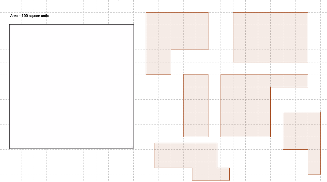Area Puzzle (B)