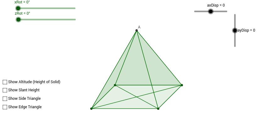 Rotating Pyramid