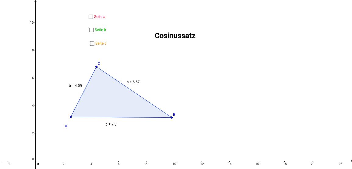 Cosinussatz