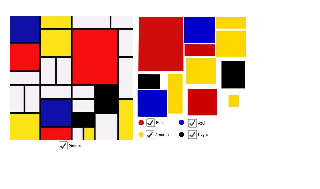 Puzzle de Mondrian
