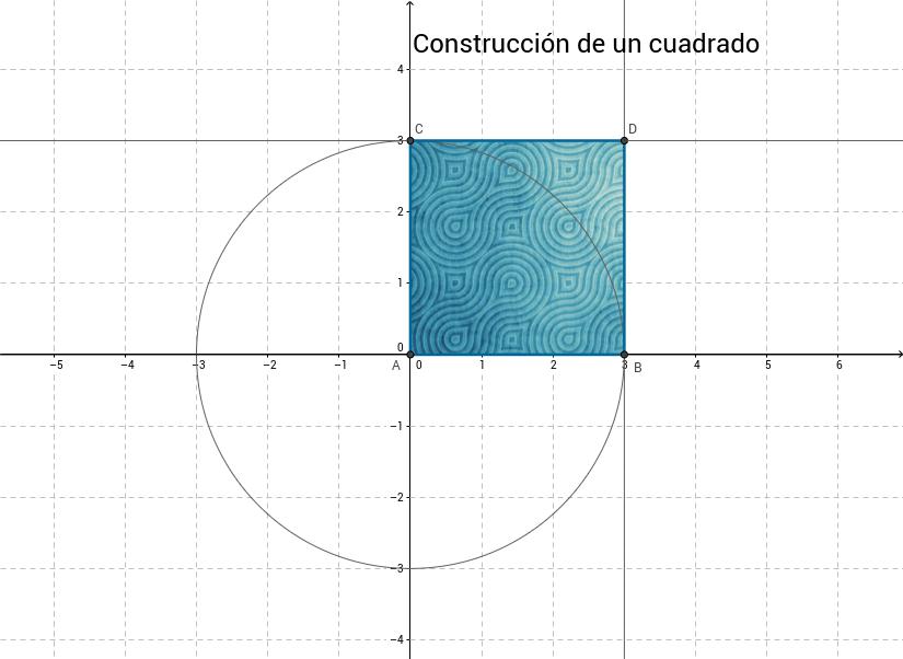 Construcción de un cuadrado