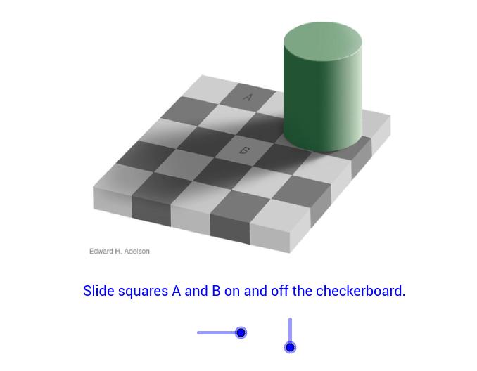 Checker Shadow Illusion'in kopyası