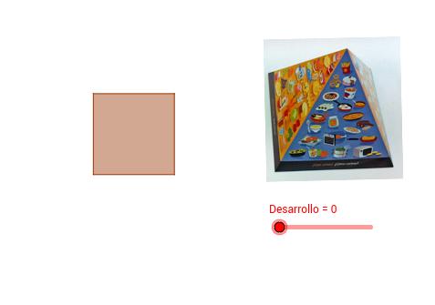 Poliedro: Pirámide cuadrangular