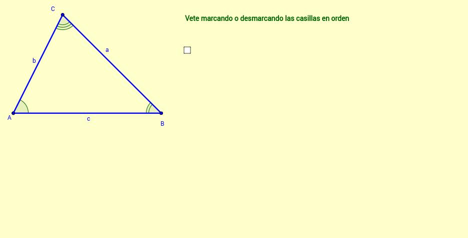 Ampliación del Teorema del Seno