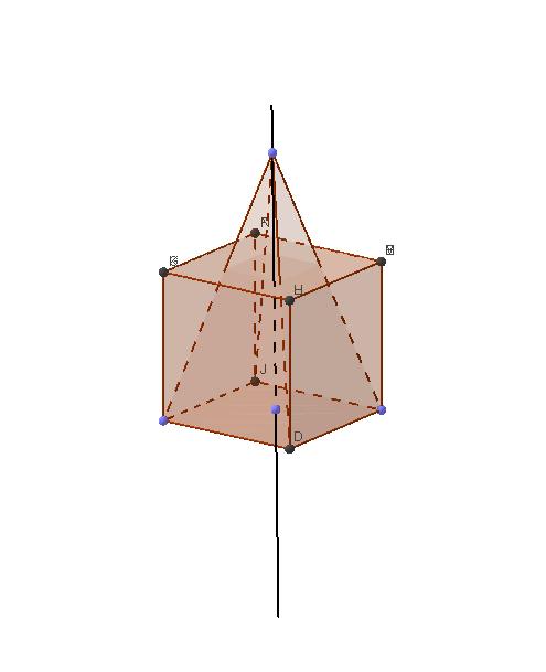 Куб с пирамида