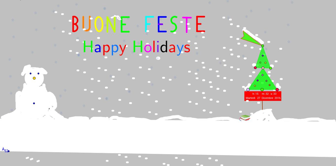 buone feste - happy holidays - Buon Natale - Buon Anno -