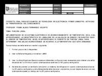 COMPLEMENTO - TRABAJO, SISTEMA DE ACONDICIONAMIENTO USANDO EL CONCEPTO DE FUNCION LINEAL.pdf