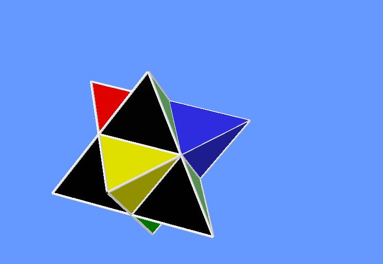 Stellated tetrahedron