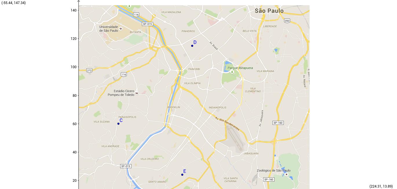 School locations in São Paulo