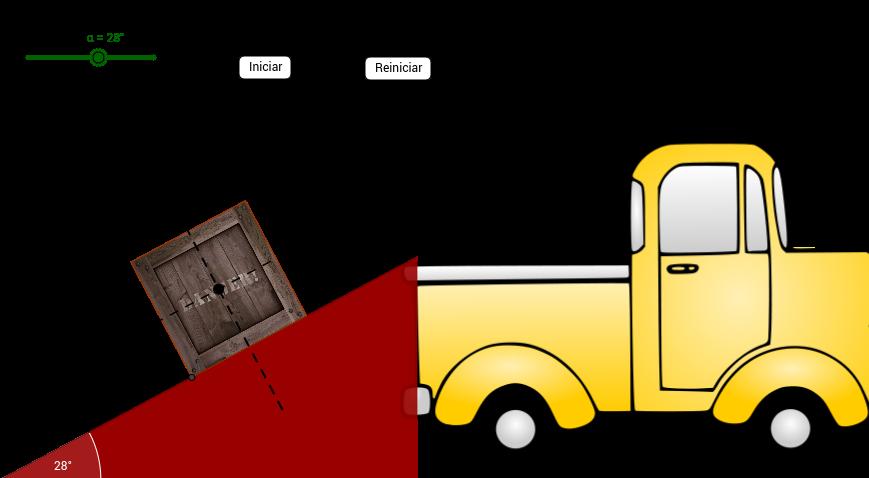 El plano inclinado (I) Tarea 5.2