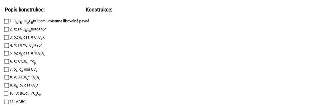 Konstrukce OS3