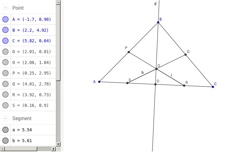 Beispiel 280 (Chou: Mechanical theorem proving, 1987)