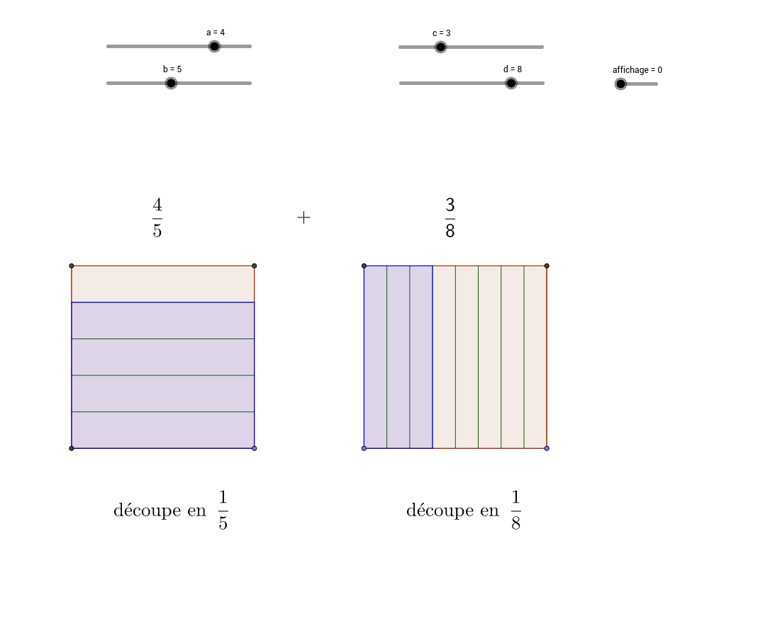 somme de fractions