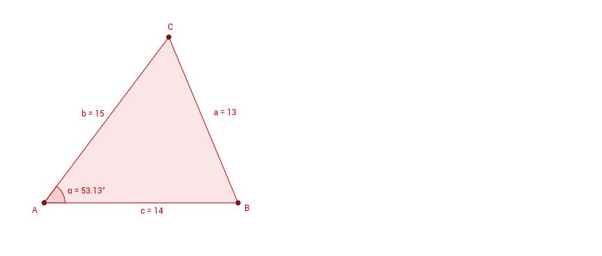 Aufgabe: Dreieck Inkreisradius Berechnung