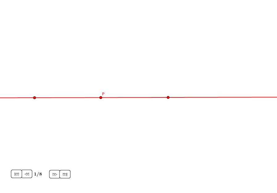 Perpendicular por un punto en una recta
