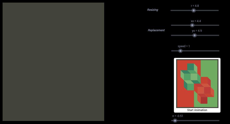 Vasarely Op-Art: Ohne Titel