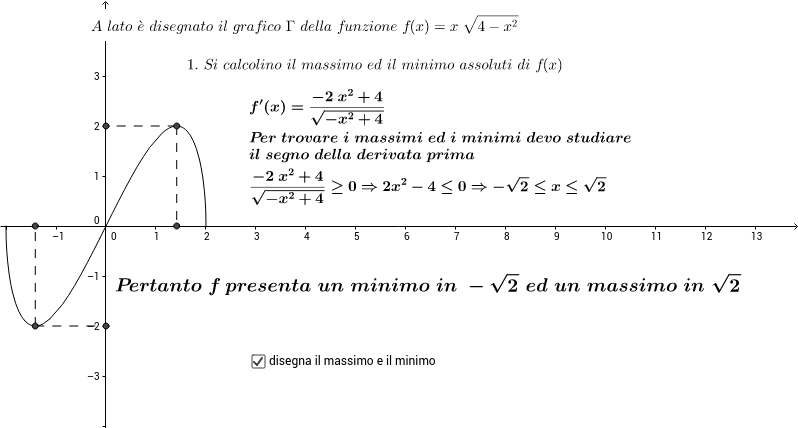ESAME DI STATO SCIENTIFICO ORDINARIO 2014 - PROBLEMA 2.1