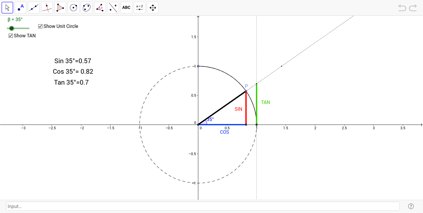 Worksheets Sin Cos Tan Worksheet sin cos and tan for angles greater than 90 degrees geogebra
