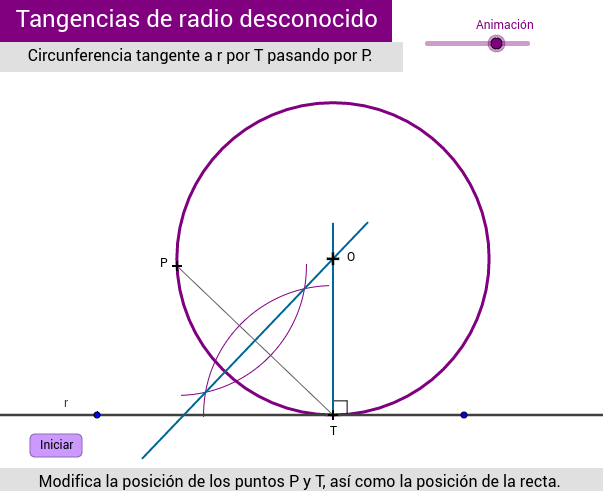 TANGENCIAS (radio desconocido)