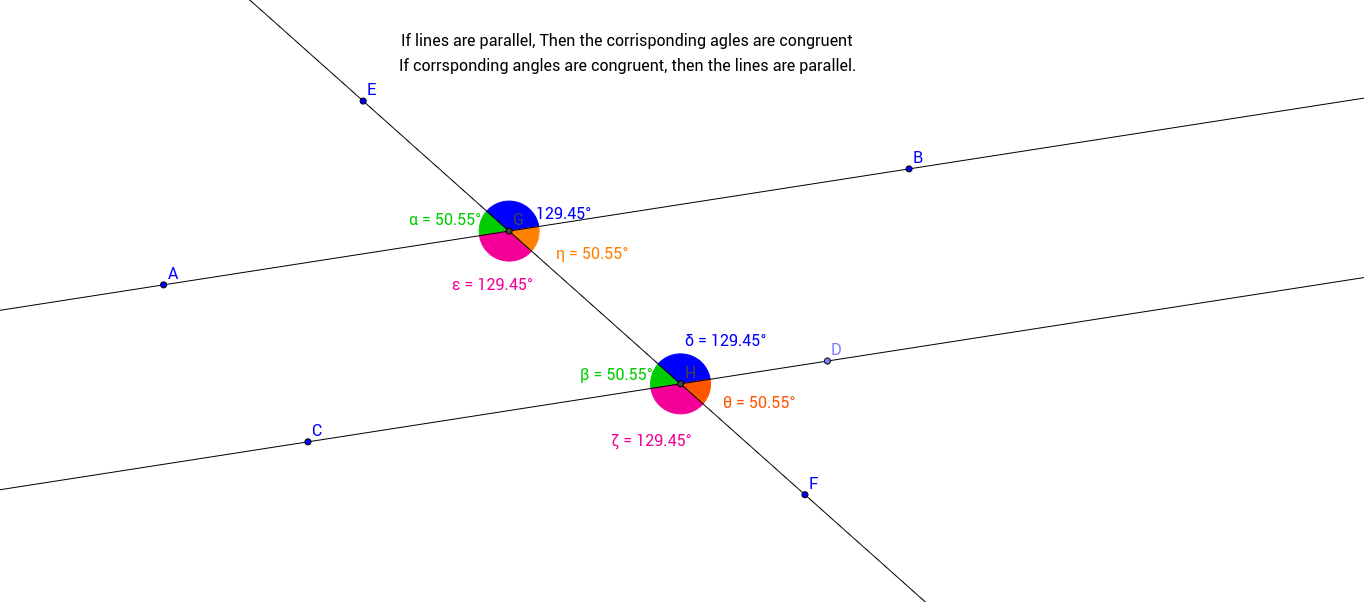 Corrisponding Angles