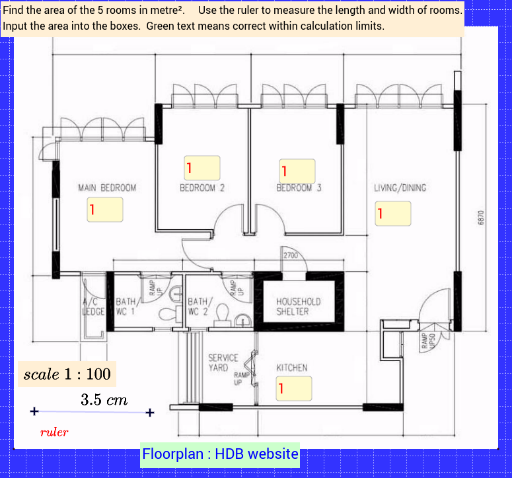 Map Scales Room Area GeoGebra – Map Scales Worksheet