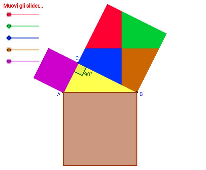 Copia di Teorema di Pitagora (dim 4: di Perigal)