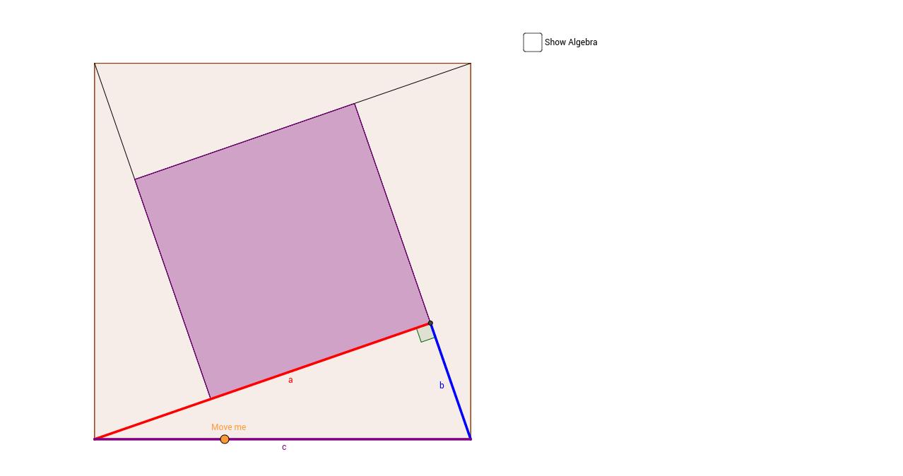 Pythagorean Theorem Proof #4