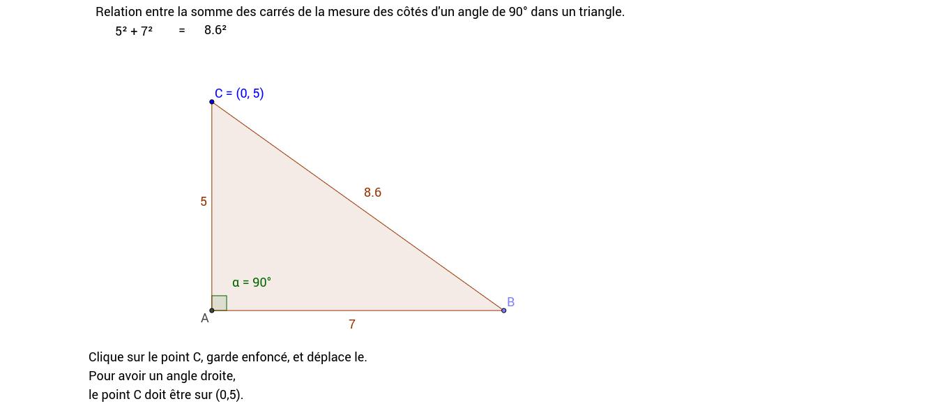 Copie de Pythagore réciproque