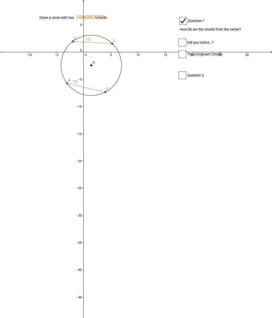 Circles and Segments
