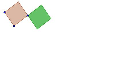 Cuadriláteros con una de sus diagonales en la misma recta
