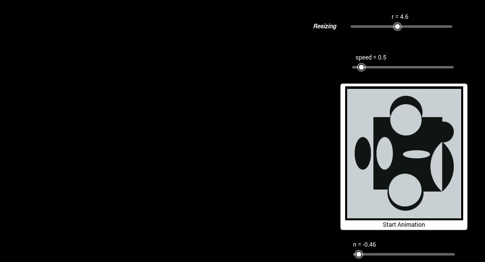 Vasarely Op-Art: Terreur