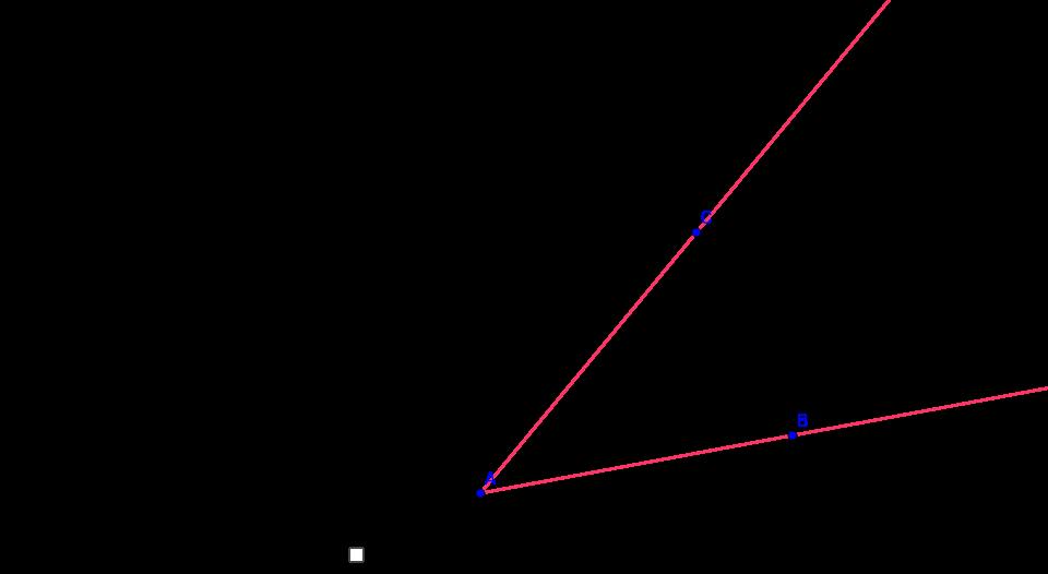 GeoGebra Protractor Tool