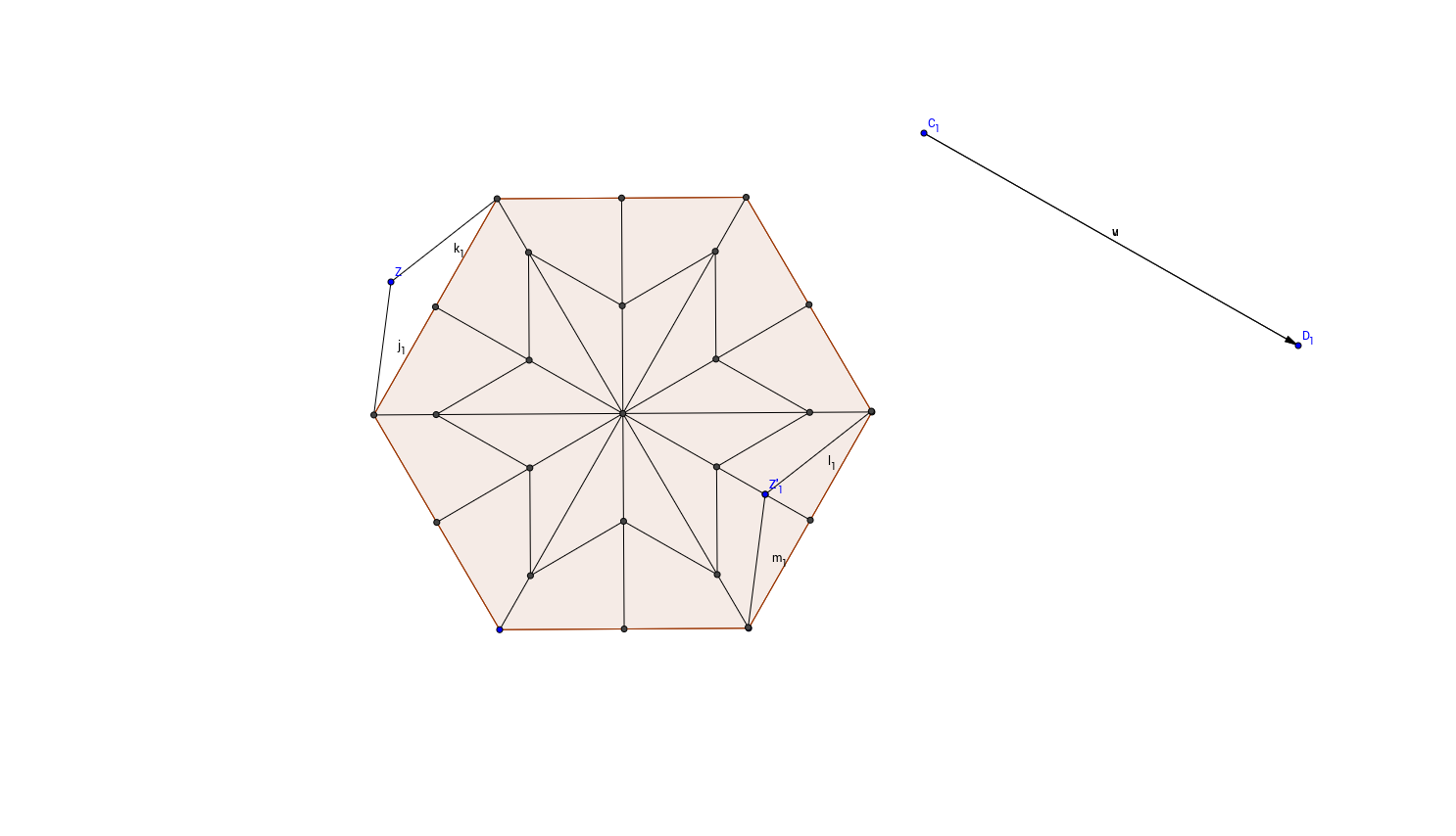 Step 4: Starting to create the outer part of the tesselation
