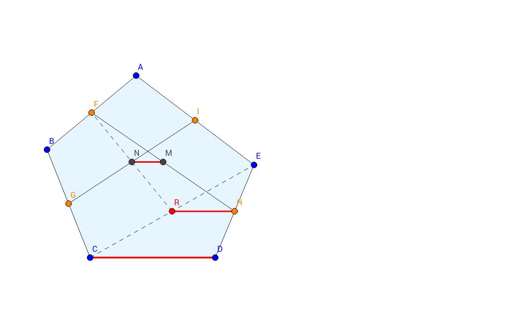 五邊形中點