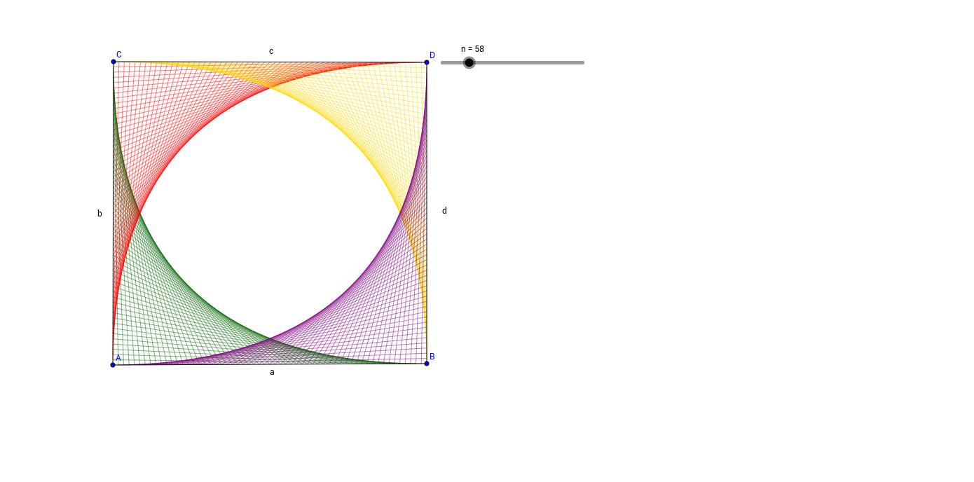 Bezier Curves négyszögben