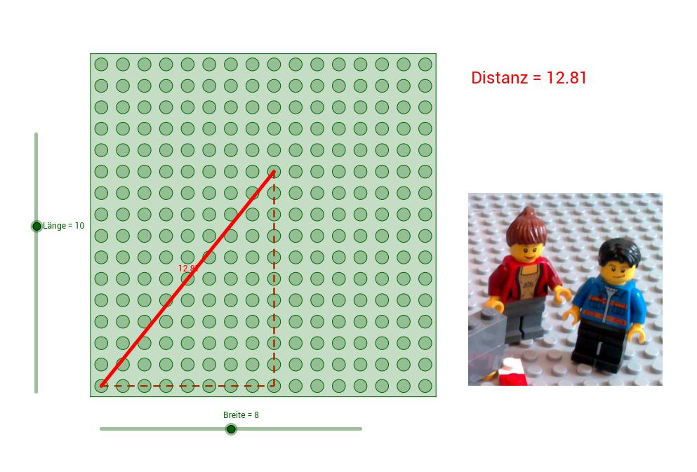 LEGO-Mathematik: Der Satz des Pythagoras