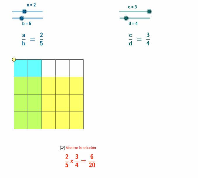 Copia de Multiplicación de fracciones