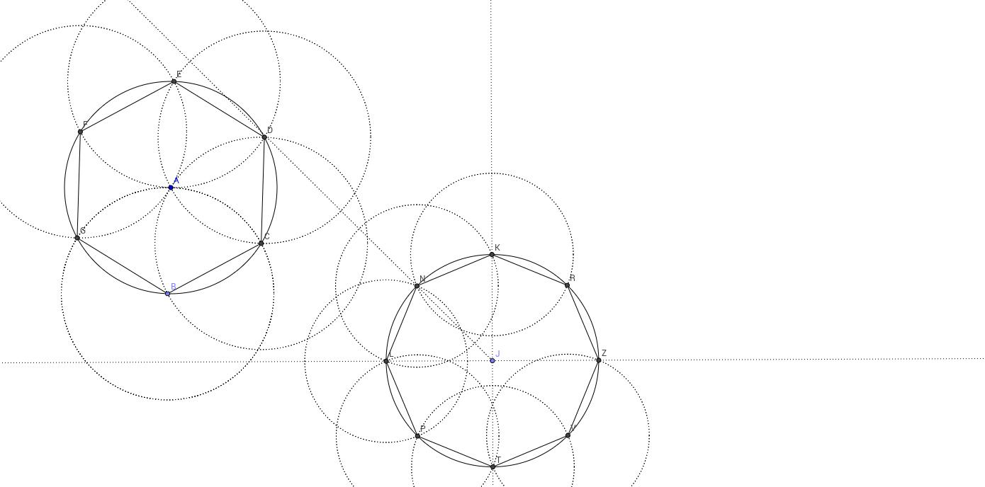 Szabályos 6- és 8-szög